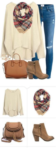 Fall time show begins~ Start from $13.99! Say hello to perfect street style outfits! Take this piece to the date, shopping mall, to brunch and balaba events...Check more at http://Cupshe.com (Fall Top With Jeans)