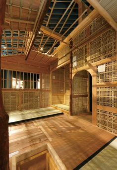 Japanese carpentry - Sukiya carpentry 数寄屋大工 this is so unbelievably beautiful, like living inside a work of art. Japanese Carpentry, Japanese Joinery, Japanese Design, Japanese Architecture, Interior Architecture, Japanese Tea House, Japanese Interior, Land Scape, Decoration
