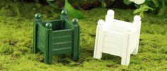 The Fairy Garden - Vegetable Garden - Pots - Planters - Trellis