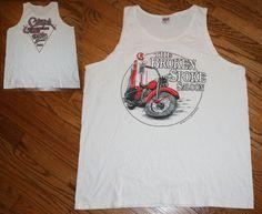 4842f4b5b6e423 Vintage 1992 THE BROKEN SPOKE SALOON Sturgis Motorcyle Rally Tanktop T-Shirt  XL  Anvil  sleevelesstshirt
