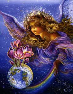 """Hope Springs Eternal 2"" par Josephine Wall"