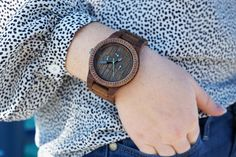 Wooden watches and wooden sunglasses for Father's Day gifts - Maggie a la Mode #wewood #ootd