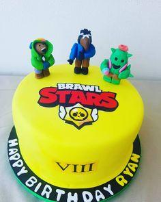 Fondant Cakes, Damon, Birthdays, Food And Drink, Birthday Cake, Craft Ideas, Homemade, Snacks, Drinks