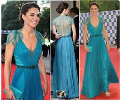 ♥  Kate Middleton In The Prettiest Dress Ever!! I Want  | Hair & Make