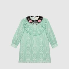 Children's broderie anglaise dress