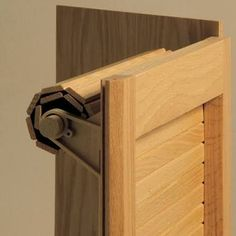 How to Make a Tambour Door / Appliance Garage | Crafts | Pinterest ...