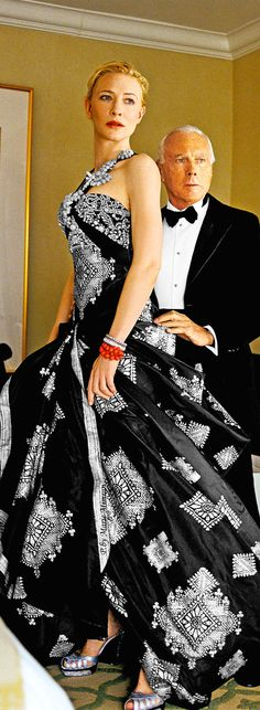 Armani&Cate Blanchett