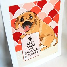 Snuggle your puggle.