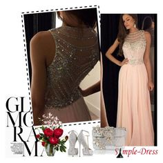 """""""Simpledress 6"""" by followme734 ❤ liked on Polyvore featuring Dsquared2, René Caovilla, Nearly Natural and simpledress"""