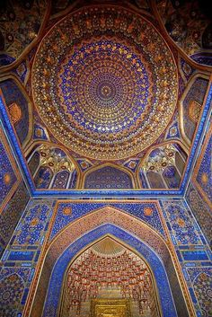 Beautiful Mosque - Uzbekistan