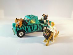 Corgi Toys 438 - Daktari Land Rover 109 WB Personnages & accessoires