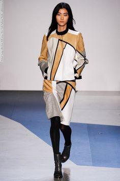 Helmut Lang collection (Fall 2013, New York Fashion Week)  #HelmutLang #NewYork