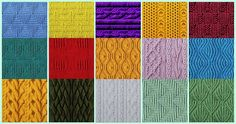 The Ultimate Gallery Of Knitting Stitch Patterns - Over 250 Stitches For Free