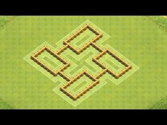 Clash of Clans Town Hall 5 Defense BEST CoC TH5 Hybrid Base Layout Defense Strategy - YouTube