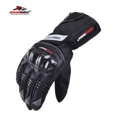 Madbike winter carbon protection motorcycle gloves waterproof luva motocicleta motorbike motocross gloves guantes moto racing XL