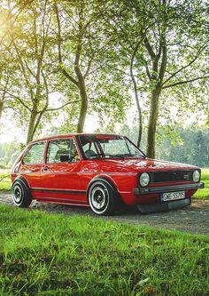 Volkswagen Golf MK1 #golf #mk1