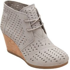 Women's TOMS Desert Wedge Bootie