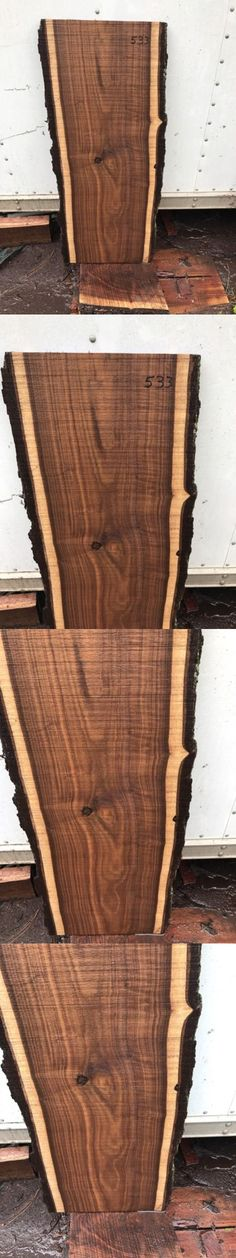 Woodworking Lumber 2 Live Edge Black Walnut Slabs Kiln Dried And Planed Project Ready BUY IT NOW ONLY $119 on eBay - where to buy wood slabs