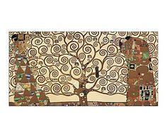 Cuadro en madera DM The three of life - 50x100 cm