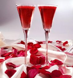 Cocktails for Valentines Day!