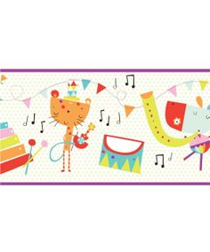 Pippop - Wallpaper Border - Clearance - Mamas & Papas €4