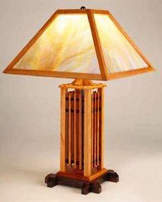 Charming Craftsman Table Lamp