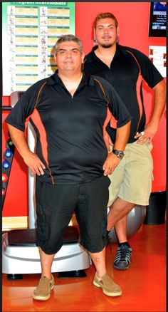 The Owners of T-Zone Scarborough.  Mike on the left & George on the right.