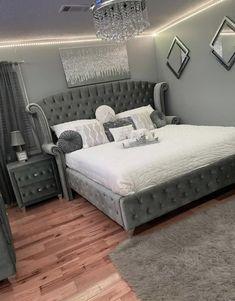 Fancy Bedroom, Room Design Bedroom, Stylish Bedroom, Room Ideas Bedroom, Home Room Design, Home Bedroom, Decor Home Living Room, Bedroom Decor For Teen Girls, My New Room