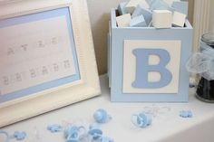 Welcome Baby Brayden | CatchMyParty.com
