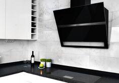 Kakel med inspiration från Carrara-marmor