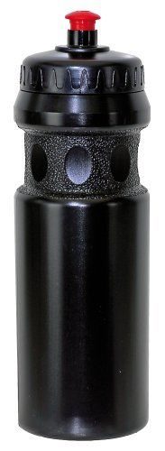 Mighty Water Bottle (Black) by Mighty. $8.00. The Mighty Water bottle is 650 (to 700) ccm. It comes in  black color. It is a plastic water bottle.