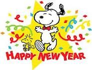Happy New Year From Snoopy!!