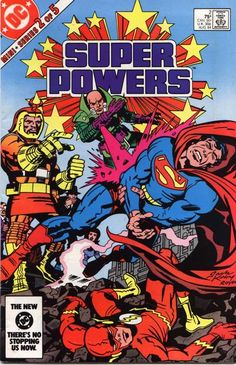 Cover for Super Powers (1984 series) #2 [Direct]