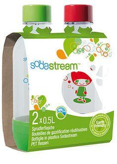 Sodastream, Täyttöpullo 2 kpl 0,5ltai litrasiakin saa olla. Specialty Appliances, Pet Bottle, Household Items, Personal Care, Catalogue, 2013, Amazon, Eating Healthy, Presents