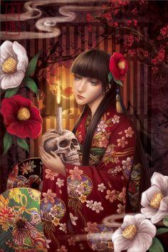 Hyakumonogatari -Hundred Tales- by Yue-Iceseal