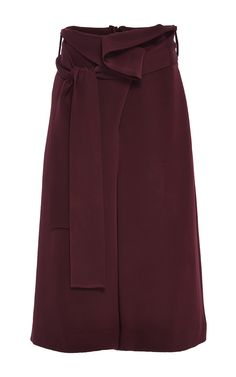 Pleated Wide Leg Pant by TIBI Now Available on Moda Operandi