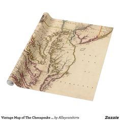 Vintage Map of Dublin and Surrounding Areas 1900 Wrapping Paper