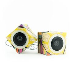 Seedling Design Out Loud Cardboard Speakers ** Click image for more details.