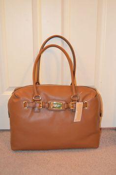 Michael Kors Hamilton Weekender Luggage Genuine Leather Bag $448 NWT #MichaelKors