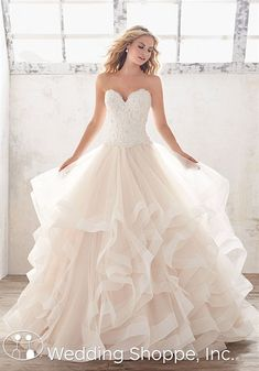 Mori Lee Marcia | Bridal Gown | Ball Gown Wedding Dress