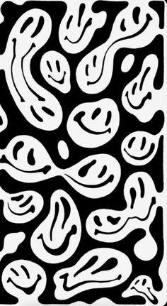 Hippie Wallpaper, Trippy Wallpaper, Retro Wallpaper, Cute Wallpaper Backgrounds, Wallpaper Iphone Cute, Black Wallpaper, Cute Wallpapers, Iphone Wallpaper Tumblr Aesthetic, Black Aesthetic Wallpaper