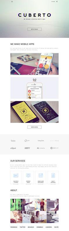 Cuberto - Design Agency