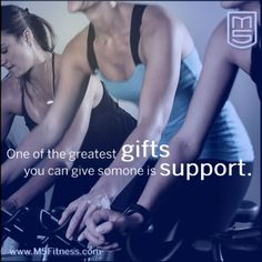 One of the greatest gifts you can give is support.