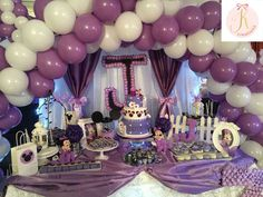 Purple Minnie Mouse | CatchMyParty.com