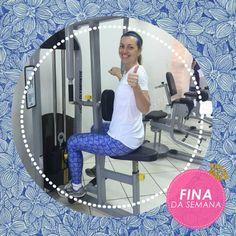 A Melissa Lisboa ativou seus poderes styling-zísticos para montar um look fitness cheio de estilo. A legging digital azul, de abacaxis, arrematou a compô e transformou a nossa cliente, na Fina da semana!