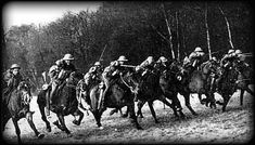 In March 1918 the British launched a cavalry charge at German lines. 4 out of 150 horses survived