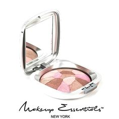 ANGELIC SPLASH POWDER  Baked mineral blush gently blended into a collage of delicate colors! #Makeup #MineralBlush