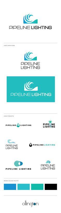 Pipeline Lighting Logo Design -