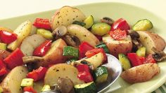 Oven-Roasted Potatoes and Vegetables