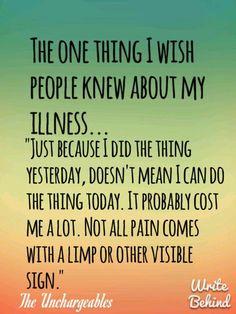 Invisible Illnesses